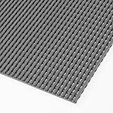 AkwadekTM Anti-Slip Hygienic Matting for Changing Rooms and Swimming Pools, 60 cm wide (Grey, 60 cm)