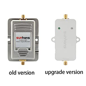 Sunhans Sh-2500 2500mw Wireless Signal Repeater 33dbm Wifi Signal Booster 2.5w (Color: sliver)