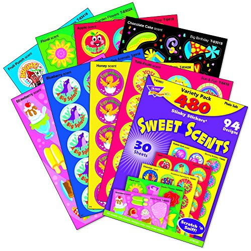 Trend Enterprises Sweet Scents Stinky Stickers Variety Pack - 1