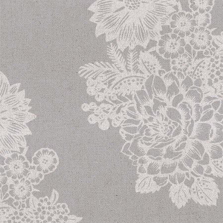 Wedding Paper Luncheon Napkins Lovely Lace Floral Pattern on Grey, Silver 40pcs