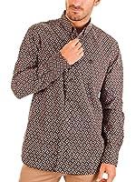 BENDORFF Camisa Hombre (Negro / Blanco)