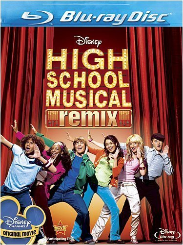 Cover art for  HIGH SCHOOL MUSICAL:REMIX EDITION