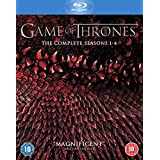 Game of Thrones: The Complete Seasons 1-4 Box Set (Blu-ray)