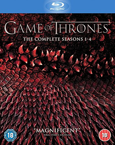 Game of Thrones - Season 1-4 Box Set [Blu-ray] (Season 1 2 3 And 4 Blu-Ray Box Set)