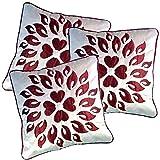 Belive-Me Royal Velvet White Cushion Covers (Set Of 3)