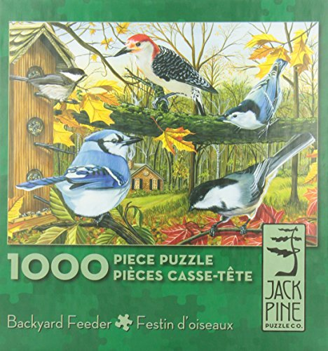 Backyard Feeder - 1000 piece puzzle