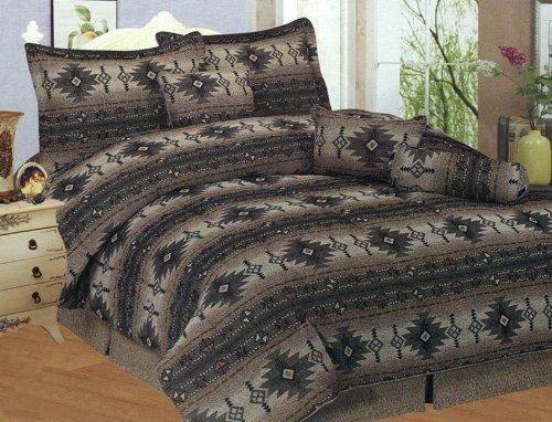Comforter set queen earth tone western bedding sets grand sales