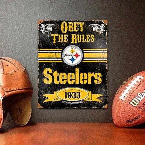 NFL Pittsburgh Steelers Vintage Sign