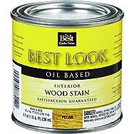- W44N00804-12 Best Look Interior Wood Stain-PECAN INT WOOD STAIN