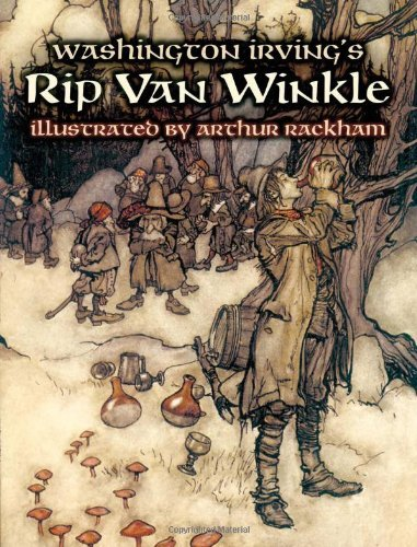 rip van winkle by washington irving 1891 edition,gpputnam,a legendof the kaatskill mountains, by washington irving, fiction.