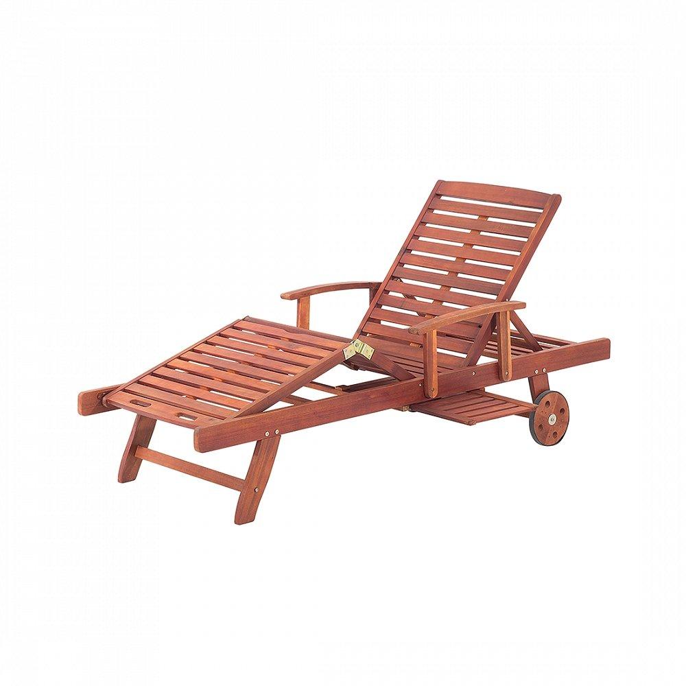 Gartenliege aus Akazienholz – Holzliege – Liegestuhl – Sonnenliege – TOSCANA günstig