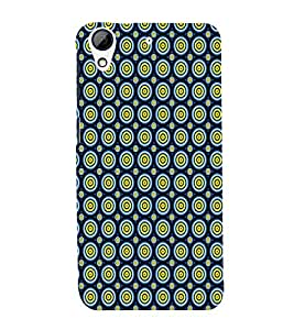 Circular Pattern 3D Hard Polycarbonate Designer Back Case Cover for HTC Desire 626 :: HTC Desire 626 Dual SIM :: HTC Desire 626S :: HTC Desire 626 USA :: HTC Desire 626G+ :: HTC Desire 626G Plus
