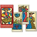 Tarot Of Marseille Large Edition (Grand Trumps):  22 full colour tarot cards major arcana, large size