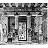 ArtzFolio Victorian Engraving Of The Temple Of Zeus Olympia - Large Size 28.3 Inch X 25.2 Inch - FRAMED PREMIUM...