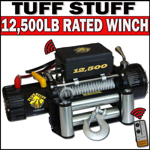 Automotive Paint Stripper Tuff Stuff Classic 12 500lb Rated Wireless Recovery Winch Review