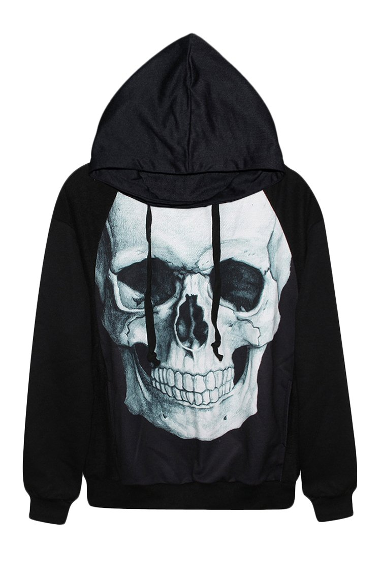 Unisex Digital Printed Long Sleeve Hoodie Sweatshirts