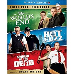 The World's End / Hot Fuzz / Shaun of the Dead Trilogy (Blu-ray + Digital HD with UltraViolet)