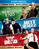 The Worlds End / Hot Fuzz / Shaun of the Dead Trilogy (Blu-ray + Digital HD with UltraViolet)