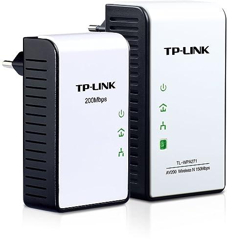 TP-Link TL-WPA271KIT Pack Extenseur CPL sans fil N 150 Mbps + CPL Ethernet powerline 200 Mbps