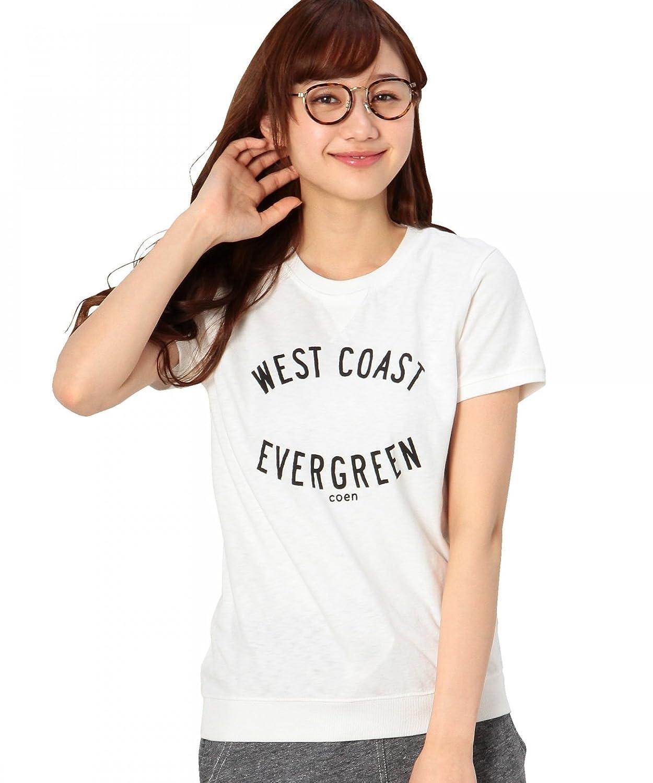 Amazon.co.jp: (コーエン) COEN ロゴリブTシャツ: 服&ファッション小物通販
