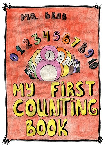 My First Counting Book: Very Beautiful Illustrations by Rising Star Artist From Ukraine