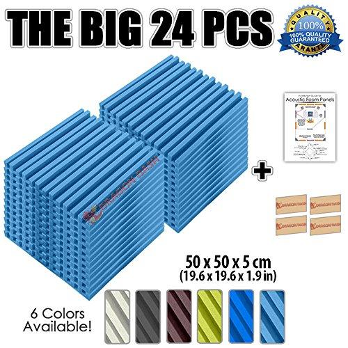 super-dash-lot-de-24-de-50-x-50-x-5-cm-rayures-metro-stripe-motif-a-chevrons-home-studio-acoustique-