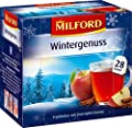 MILFORD Wintergenuss Früchtetee mit Zimt-Apfel-Aroma 28 Beutel à 3 g, 6er Pack (6 x 84 g) von MILFORD bei Gewürze Shop