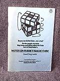 Notes on Rubik's 'Magic Cube' David Singmaster
