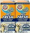 Arm & Hammer Pet Fresh Carpet Odor Eliminator Plus Oxi Clean Dirt Fighters (2 Pack)