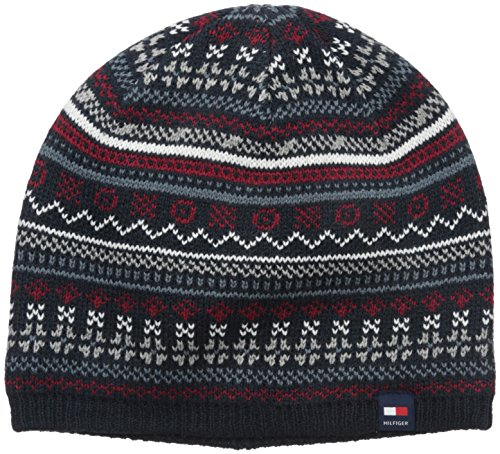 Tommy Hilfiger Men's Fairisle Beanie, Navy, One Size (Tommy Hilfiger Caps For Men compare prices)
