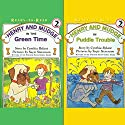 'Henry and Mudge in Puddle Trouble' and 'Henry and Mudge in the Green Time' Audiobook by Cynthia Rylant Narrated by Sucie Stevenson