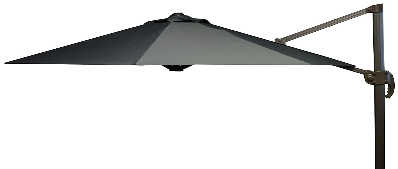 beo Sonnenschirme wasserabweisend ohne Standfuß Sonnenschutz, rund, Durchmesser 300 cm, grau