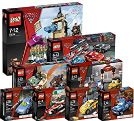 Lego Cars 2 Bundle, 8 sets from Disney's Cars 2