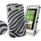 Femeto Zebra Fur Back Cover Case for HTC Radar HTC Radar Case Cover