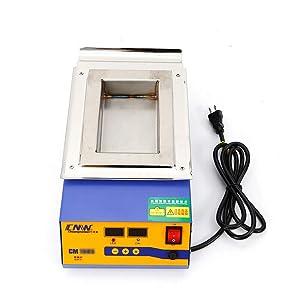 CM-180S LEAD-FREE Titanium Alloy SOLDERING POT Desoldering Bath Solder Melting 1200W 110V Compact Heating Element USA STOCK
