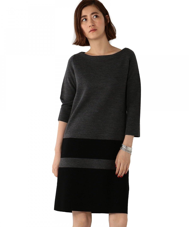 (ユナイテッドアローズ) UNITED ARROWS UBBT M/RIB B/COL KNIT92 15262992894 09 Black フリー : 服&ファッション小物通販 | Amazon.co.jp