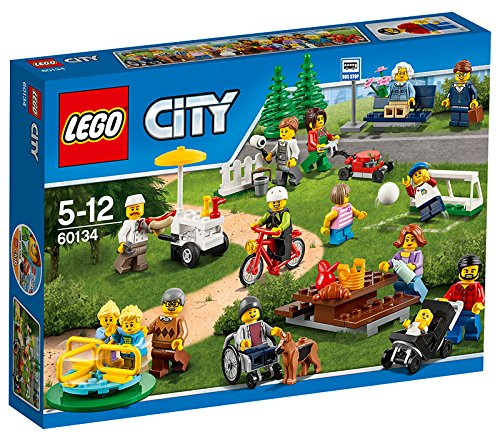 LEGO City - 60134 - La Parc De Loisirs - Ensemble De Figurines