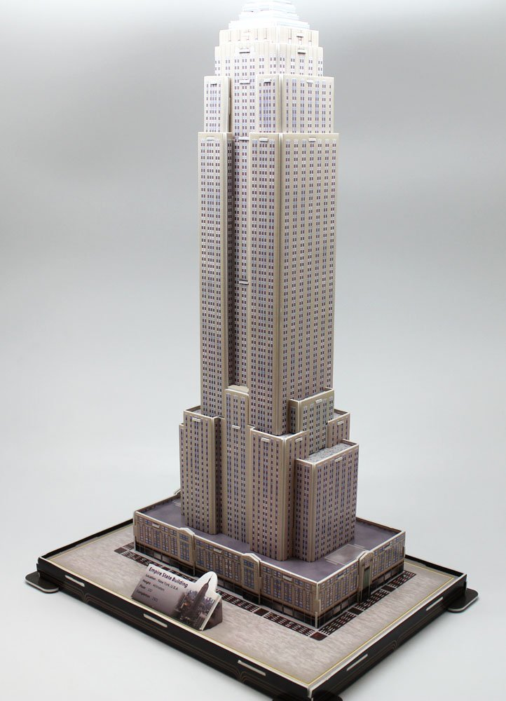Amazon.com: Empire State Building New York Landmark 3D Puzzle ...