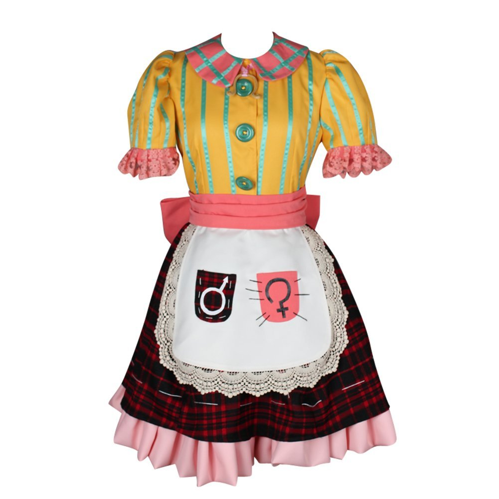 (Procosplay)alice: Madness Returns Alice Cosplay Costume &100% Hand Made alice a027fh