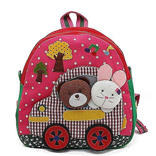 Baby Kid Backpack Schoolbag Toddler Handcrafted Bag K0216-2 front-514563