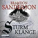 Sturmklänge Hörbuch von Brandon Sanderson Gesprochen von: Detlef Bierstedt