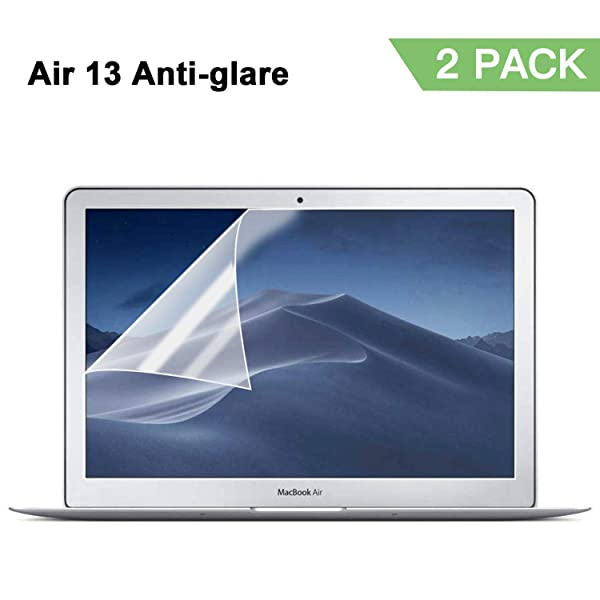 "Apple Macbook Air 13/"" 13 Anti Glare 2018 2 Pack Screen Protector Matte"
