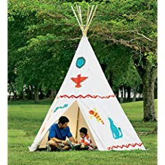 12 Family-Sized Teepee