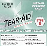 "REPAIR PATCH: Zodiac Inflatable Boat Raft Dinghy 6x12"" Tear Aid B"