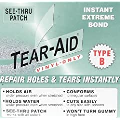 Buy REPAIR PATCH: Zodiac Inflatable Boat Raft Dinghy 6x12 Tear Aid B by Tear Repair