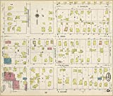 Map Poster - Sanborn Fire Insurance Map from Angola Steuben County Indiana. #5 24 X 20.5