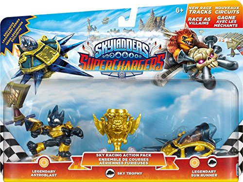 Skylanders SuperChargers Pacchetto Racing Action del volo, Sky