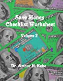 Save Money Checklist Worksheet - Volume 2