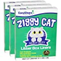Ziggy Cat Litter Box Liners- Heavy Duty and Extra Thick Disposable Liners