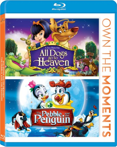 Blu-ray : All Dogs Go to Heaven / The Pebble and the Penguin (Blu-ray)
